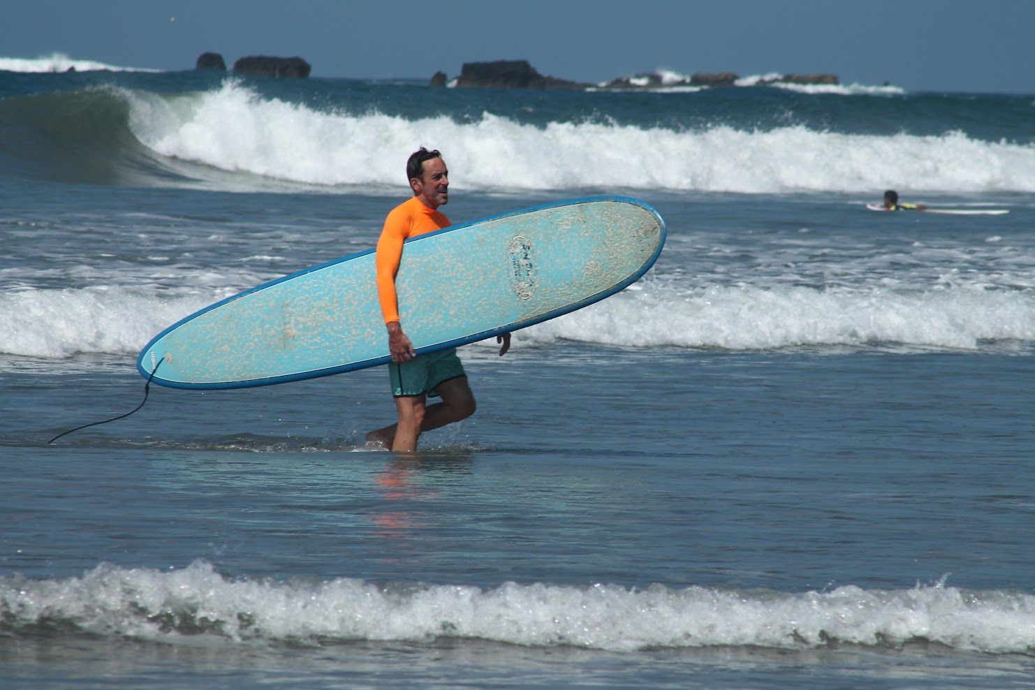 Costa Rica - Surfer with Board